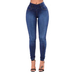 Fitted Plus Size Stretch Skinny Jeans