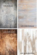 Load image into Gallery viewer, RUSTIC WOODS - Photography Backdrops
