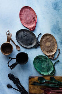 Faux Stoneware & Utensils
