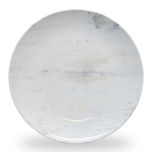 WHITE WOOD PLATE