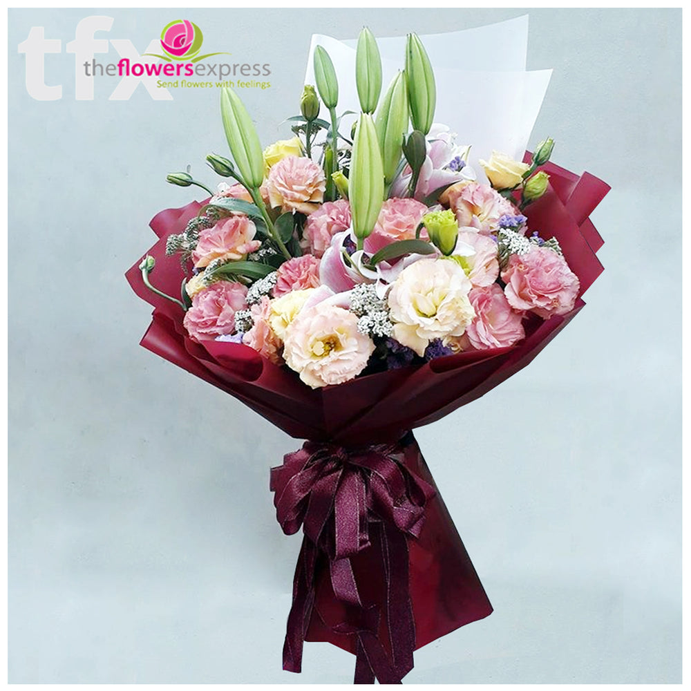 Love Blanca Flower Bouquet