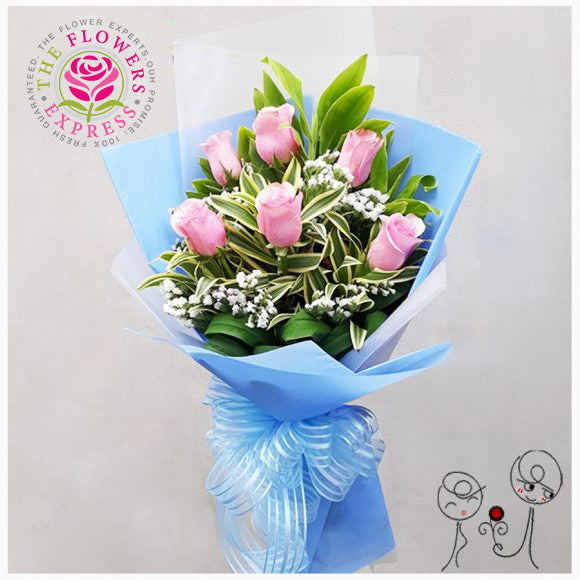 Simply You Pink Bouquet