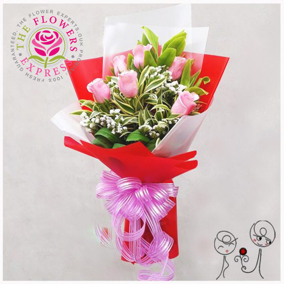 Be my Valentine Flower Bouquet
