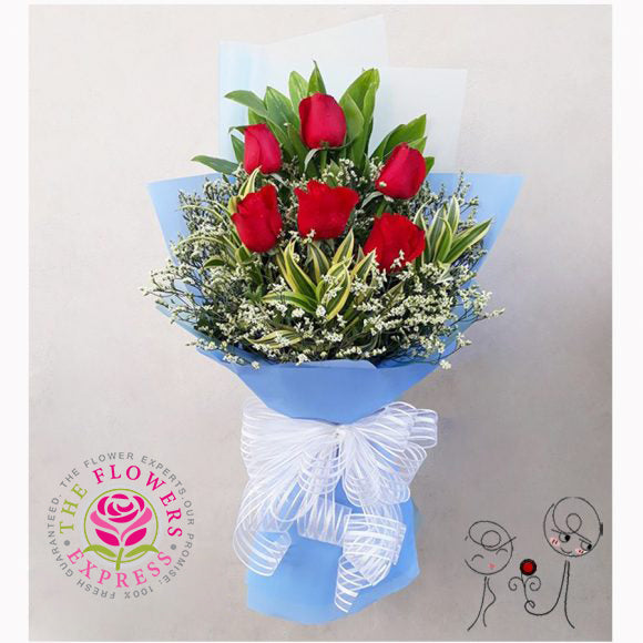 Passion Valentine Bouquet