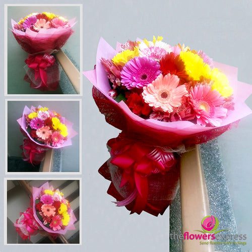 Assorted Gerbera Bouquet