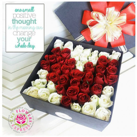 Heart Flower Gift Box