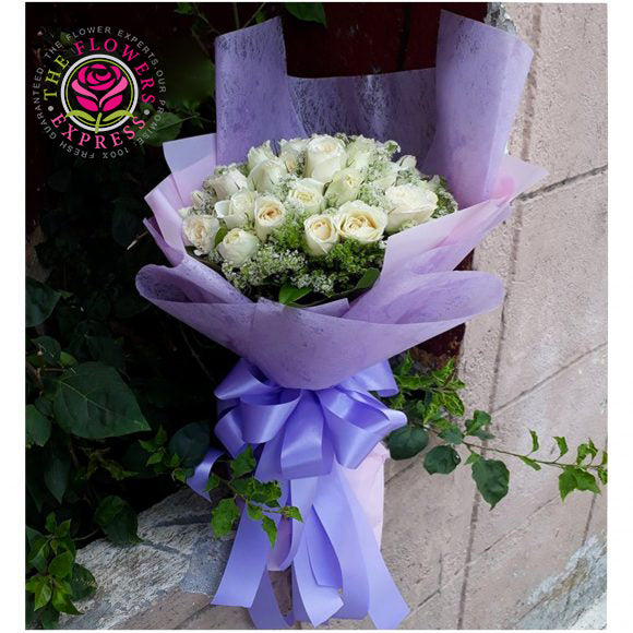 White Senorita Flower Bouquet