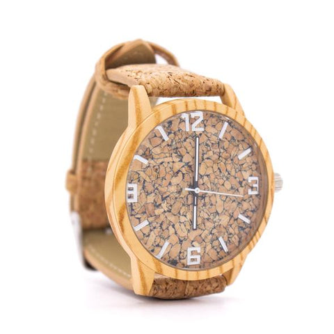 Organic Cork Leather Watch