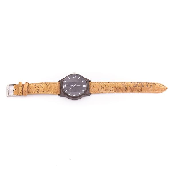 Organic Cork Wood Watch