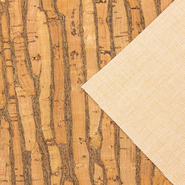 Natural Cork Fabric (Rustic)