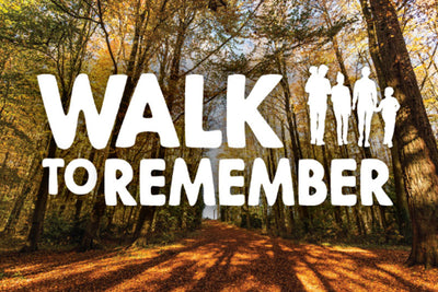 "Local charity St Peters Hospice, ""walk to remember"""
