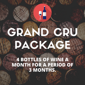 Grand Cru Gift Package (4 bottles per month)