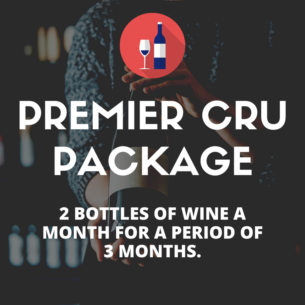 Premier Cru Gift Package (2 bottles per month)