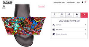 Design Your Own Slides with Our Custom Sandals Design Tool