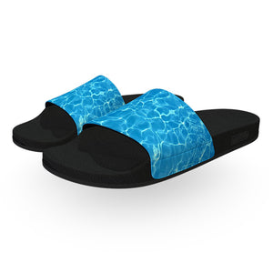 Blue Pool Water Slide Sandals
