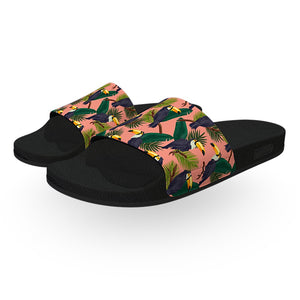 Tropical Toucan Slide Sandals