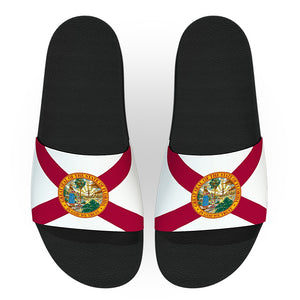 Florida State Flag Slide Sandals