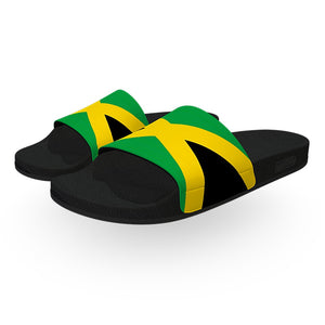 Jamaica Flag Slide Sandals