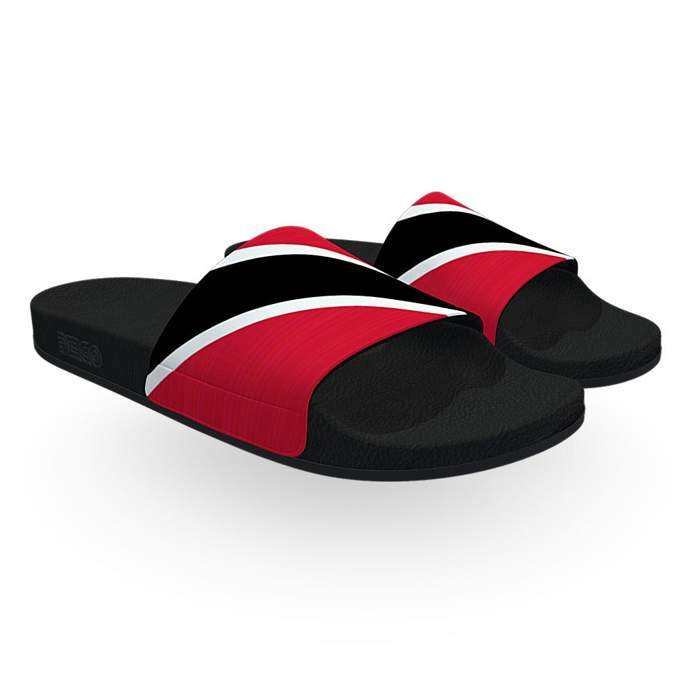 Trinidad Flag Slide Sandals