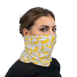 Banana Cabana Neck Gaiter Face Mask