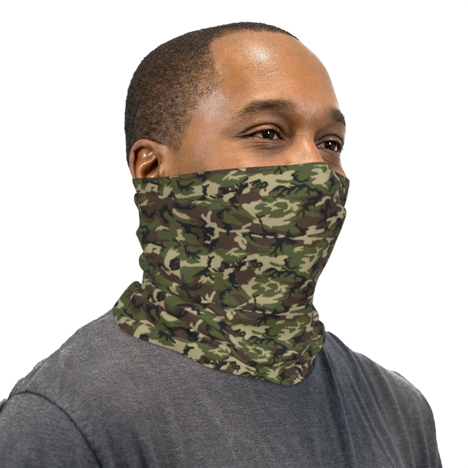 Classic ERDL Camouflage Neck Gaiter Face Mask