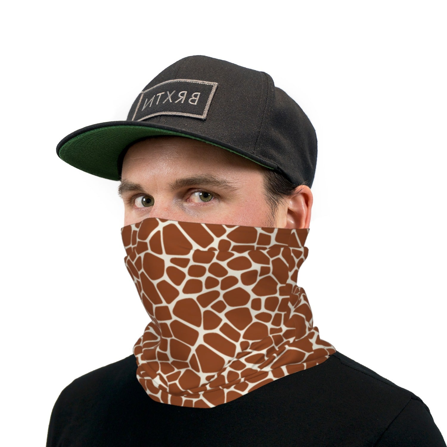 Giraffe Print Neck Gaiter Face Mask
