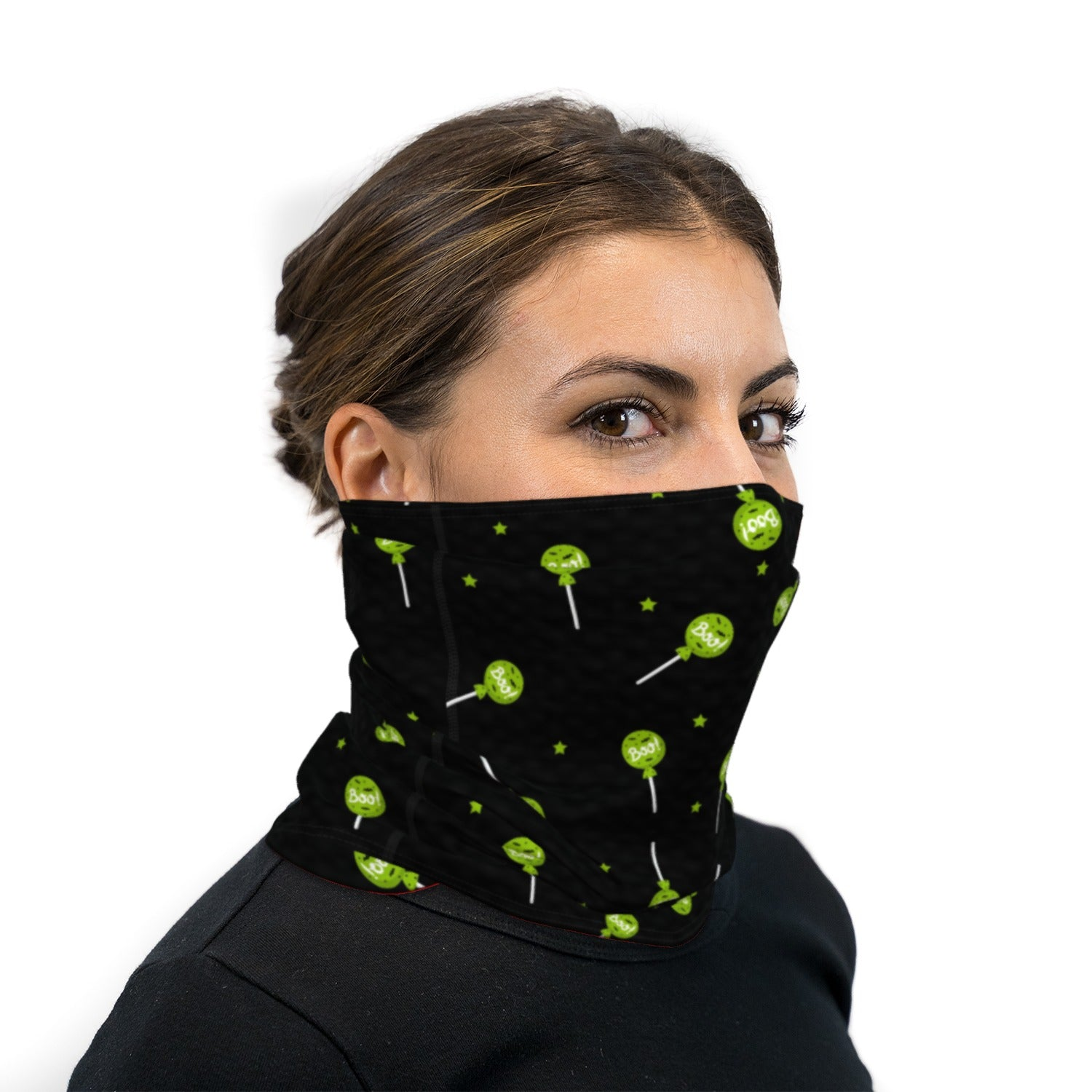 Trick or Treat Candy Neck Gaiter Face Mask