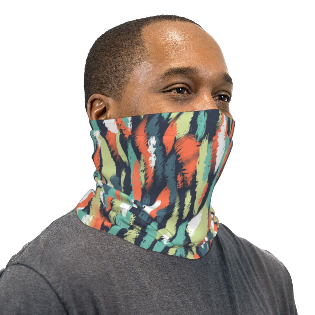 Painters Palette Neck Gaiter Face Mask