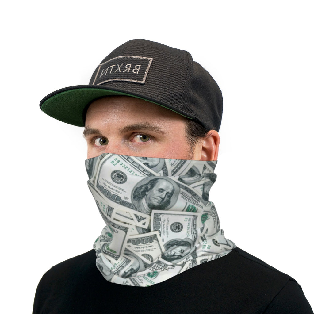 Get That Money Dollar Bills Neck Gaiter Face Mask