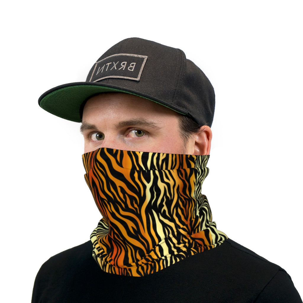 Tiger Stripes Neck Gaiter Face Mask