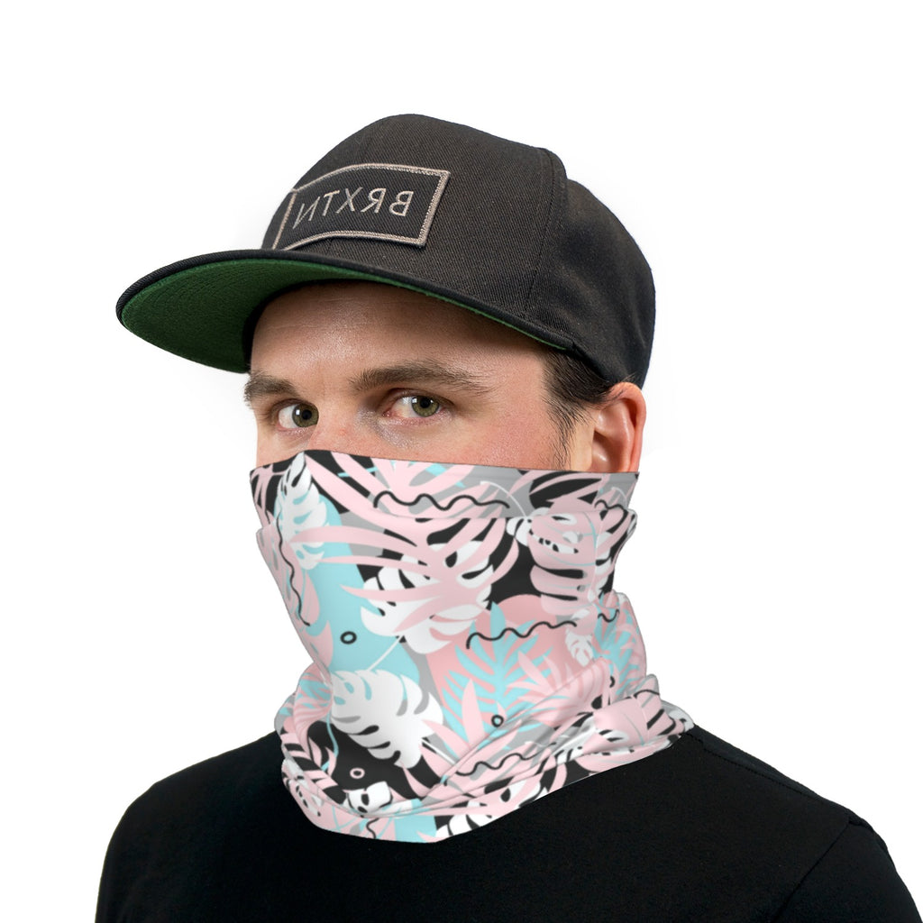 Tropical Pastels Neck Gaiter Face Mask