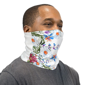 Mountain Meadow Flowers Neck Gaiter Face Mask