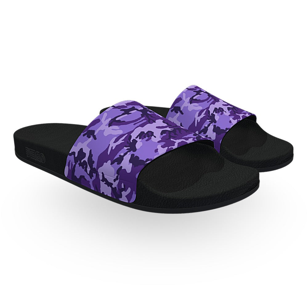 Purple ERDL Camouflage Slide Sandals