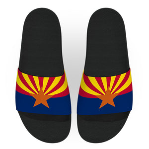 Arizona State Flag Slide Sandals