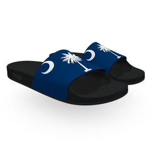 South Carolina State Flag Slide Sandals