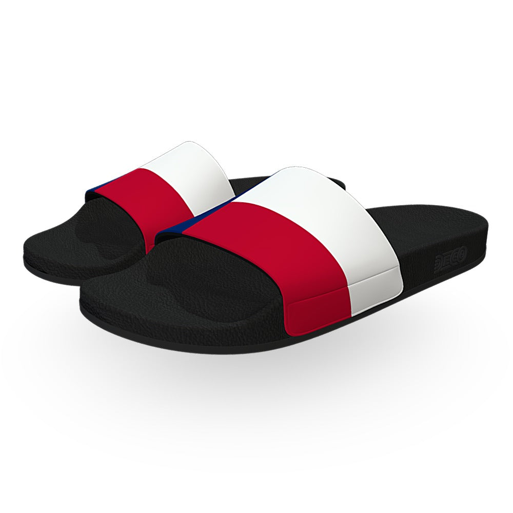 Texas State Flag Slide Sandals