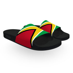 Guyana Flag Slide Sandals