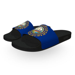 New Hampshire State Flag Slide Sandals
