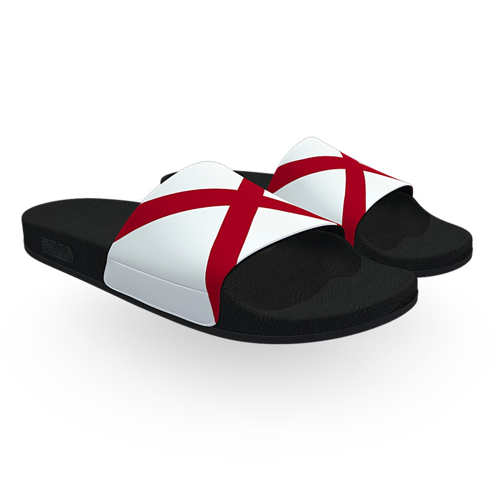Alabama State Flag Slide Sandals