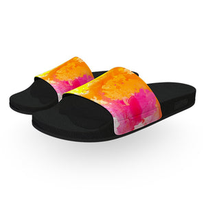 Colorful Watercolor Slide Sandals