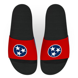 Tennessee State Flag Slide Sandals