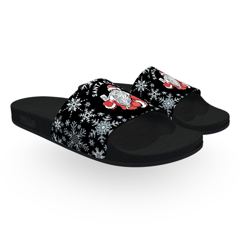 Black Santa Claws Slides