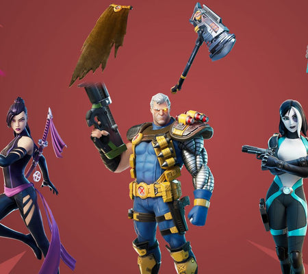 All the Upcoming Skins in Fortnite 12.40 Update (Marvel Characters)