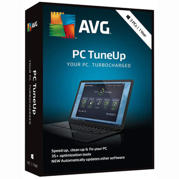 buy AVG PC TuneUp 2019 - 3 PCs / 1 Year Key online