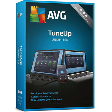 buy AVG PC TuneUp 2019 - Unlimited Devices / 1 Year Key online