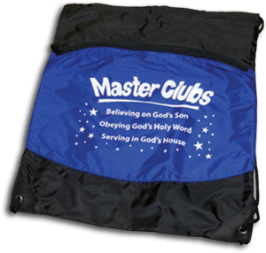 Master Clubs Blue Backpack
