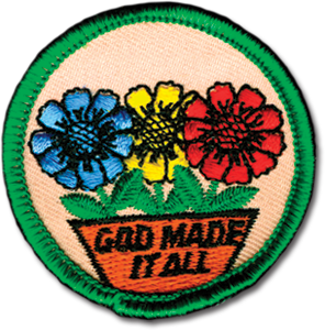 God Made It All Badge