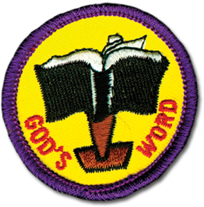 God's Word Badge