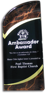 Ambassador Award - email with inscription required