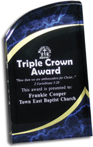 Triple Crown Award - email with inscription required